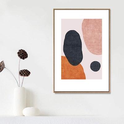 IDEA4WALL Framed Canvas Print Wall Art