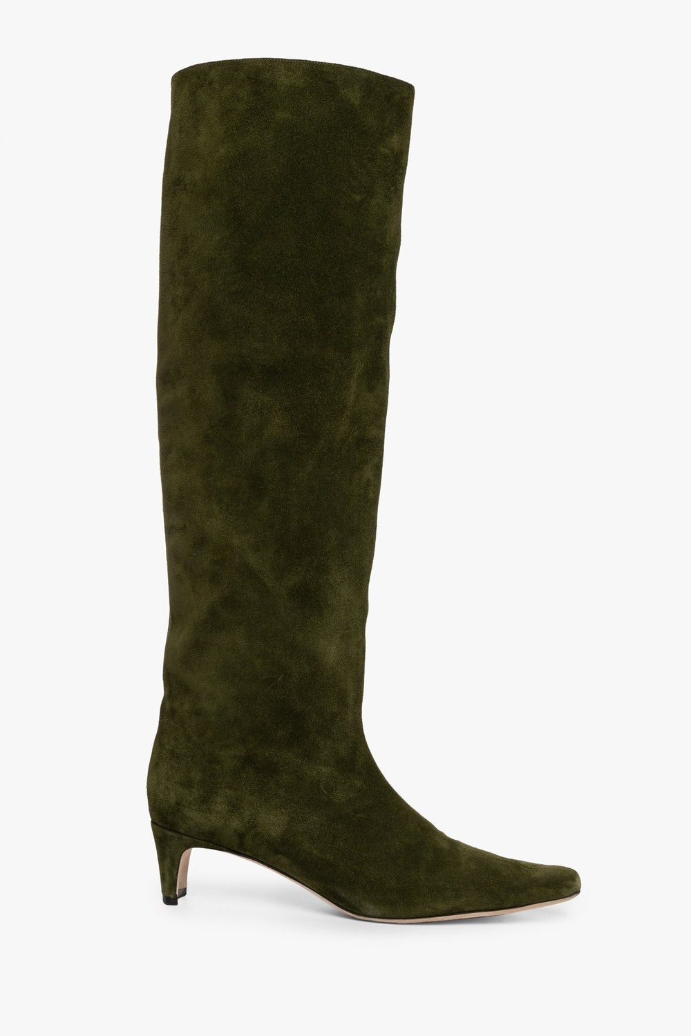WALLY BOOT | OLIVE SUEDE