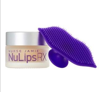 Nurse Jamie NuLips RX Moisturizing Lip Balm + Exfoliating Brush