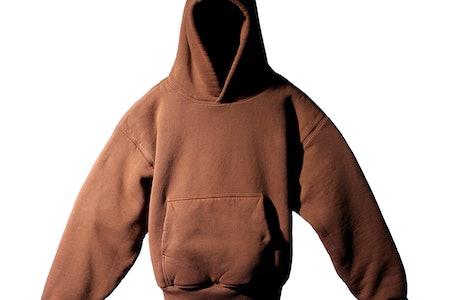 Yeezy Gap Hoodie Dark Brown