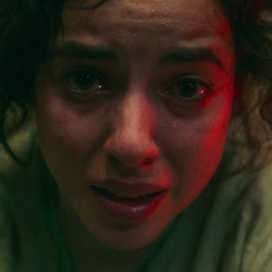 Cristina Rodlo as Ambar in 'No One Gets Out Alive'. Photo courtesy of Netflix.