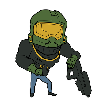 A leaked emblem from Halo Infinite