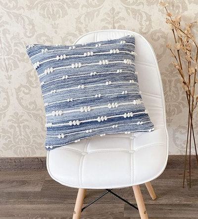 Woven Virtues Throw Pillow Cover