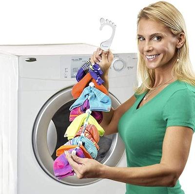 SockDock Sock Laundry Tool & Storage Hanger