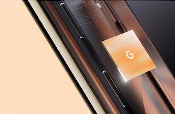 Google Pixel 6 Tensor chip