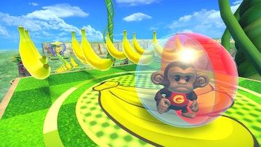 Sega Monkey Ball level