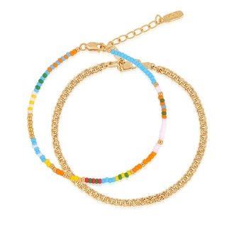 Vibrant Beaded Bracelet Stacking Set from Edge of Ember.
