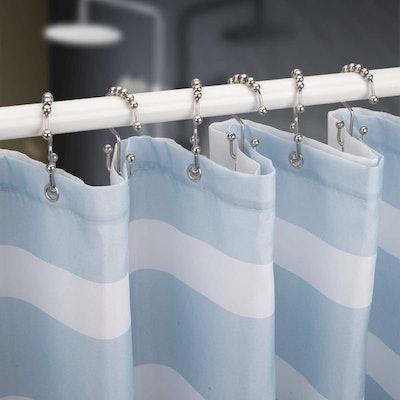 Titanker Shower Curtain Hooks (12 Count)