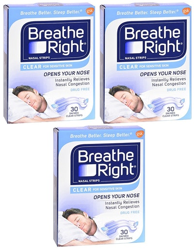 Breathe Right Nasal Strips (3-Pack)