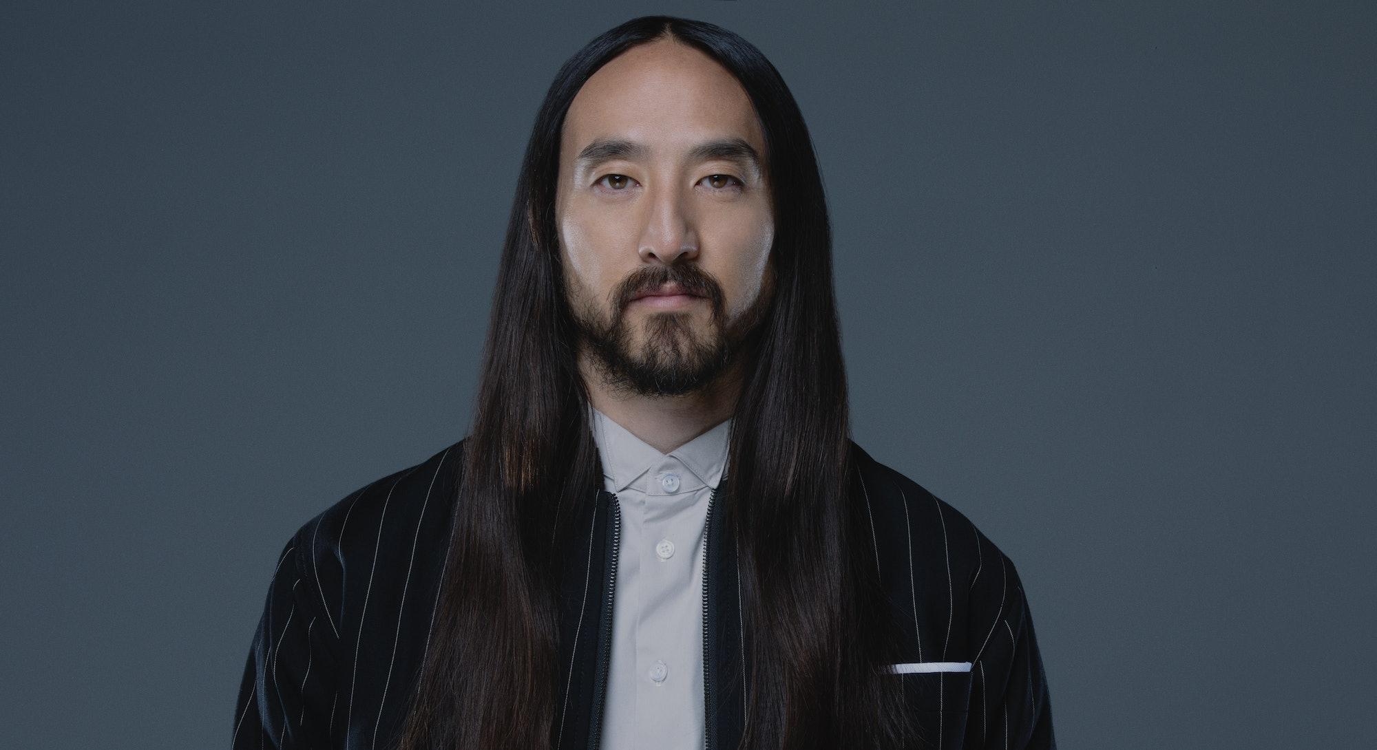portrait of Steve Aoki