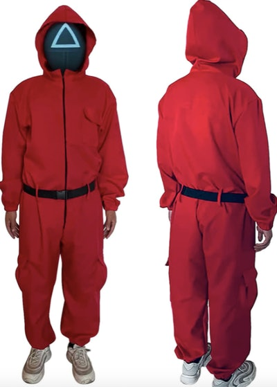 Squid Game Guard Jumpsuit Costume Merch Tracksuits