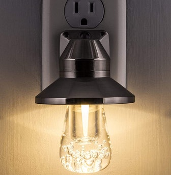 GE Vintage LED Color Changing Night Light