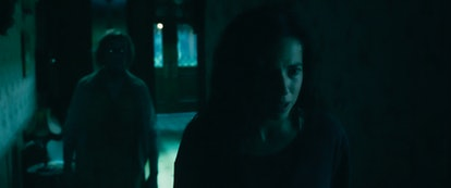 Cristina Rodlo (R) as Ambar in 'No One Gets Out Alive.' Photo courtesy of Netflix.
