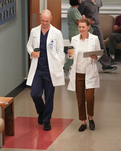 Among the 'Grey's Anatomy' Season 18 theories is a possible McWidow romance. Photo via ABC