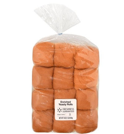 yeast rolls from Walmart