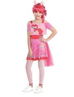little girl in my little pony halloween costume