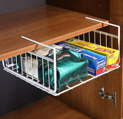 SimpleHouseware Under Shelf Basket (2 Pack)