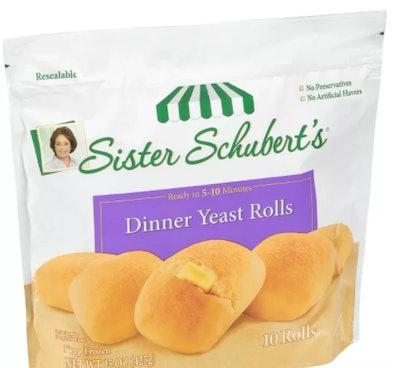 Frozen Dinner Yeast Rolls