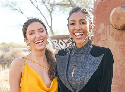 These Tayshia Adams and Kaitlyn Bristowe Halloween costumes are perfect for dressing up with your be...