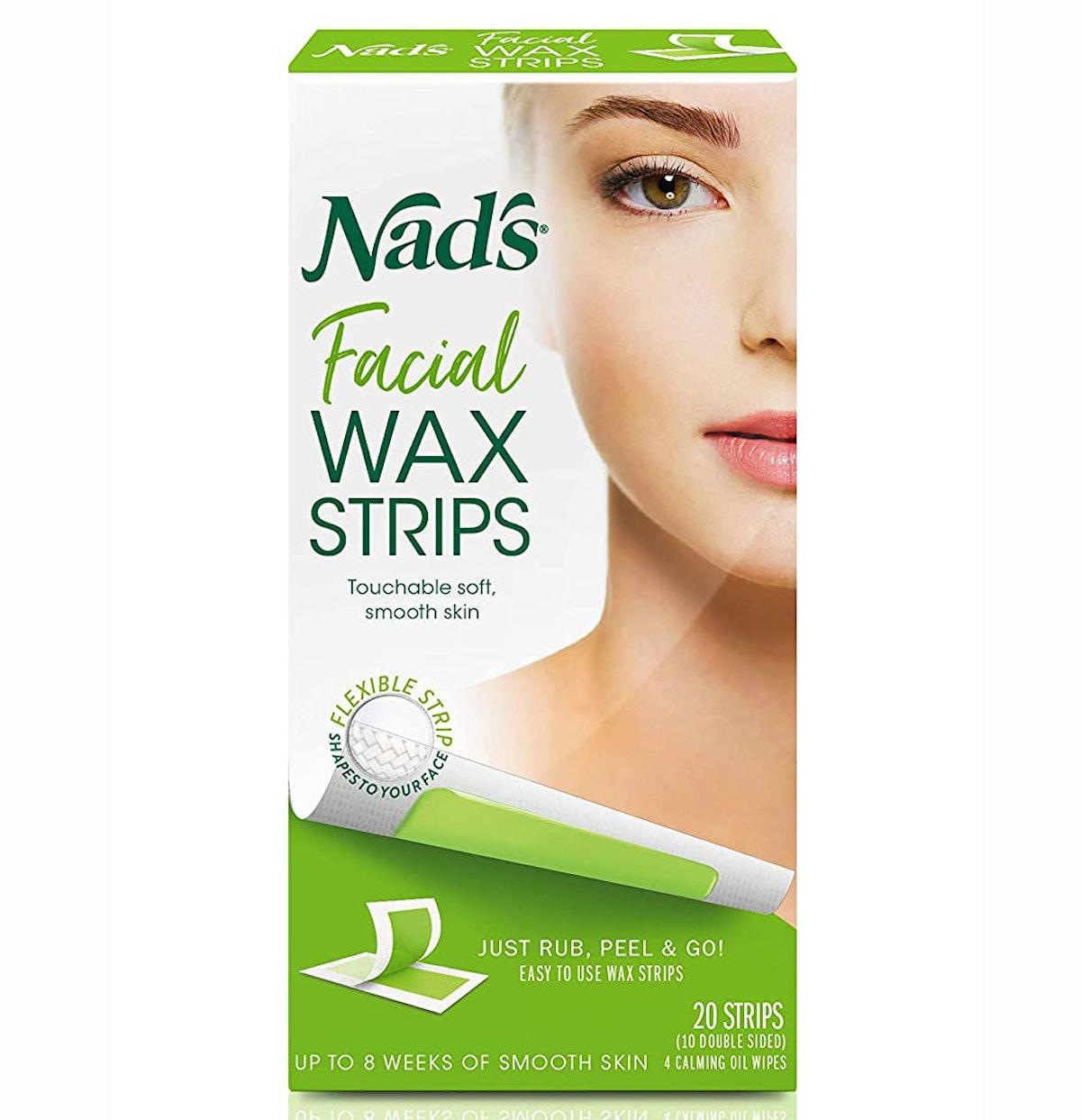 Nad's Facial Wax Strips