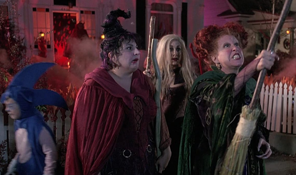 These 'Hocus Pocus' Zoom backgrounds include all three Sanderson sisters.