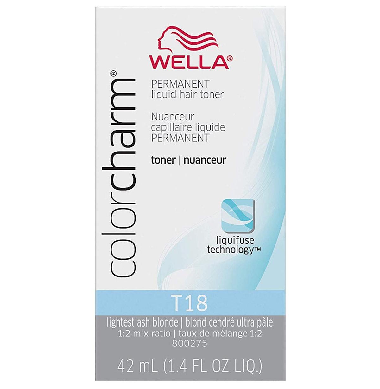 Wella Color Charm Permanent Liquid Hair Toner, T-18