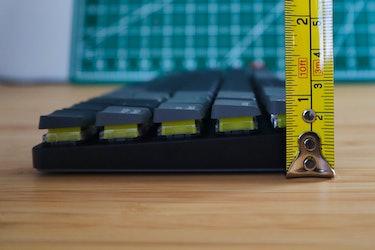 Keychon K7 review: mechanical keyboard low profile thin