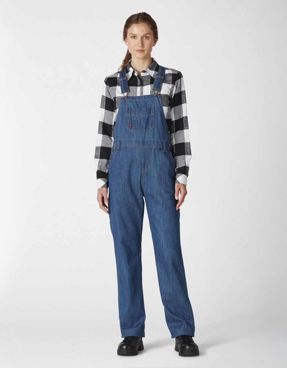 Women's Relaxed Fit Bib Overalls
