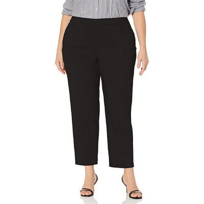 Alfred Dunner Plus Size Modern Fit Stretch Pants