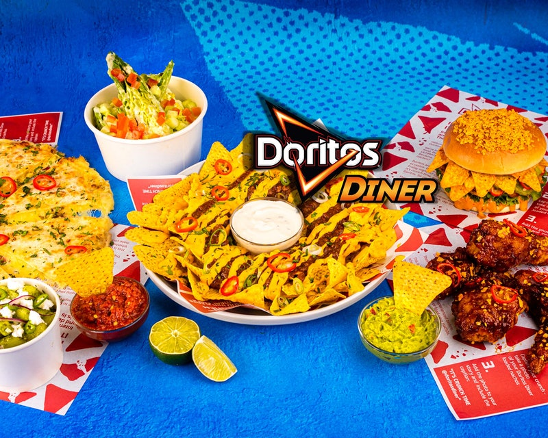 The Doritos Diner can be found in three areas across London.