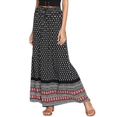 Milumia A Line Maxi Skirt