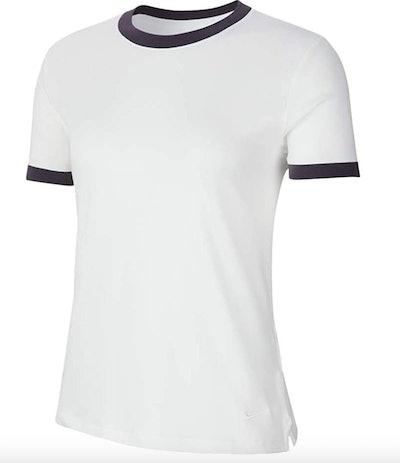 Nike Women's Short Sleeve Ringer Top