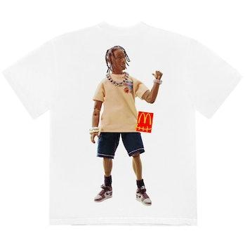 McDonald's x Travis Scott Action Figure series T-Shirt