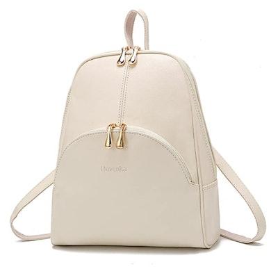 Nevenka PU Leather Backpack