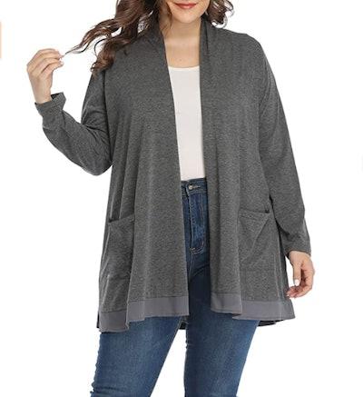 Shiali Plus-Size Cardigan