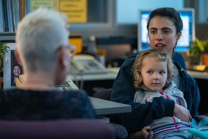 RYLEA NEVAEH WHITTET as MADDY and MARGARET QUALLEY as ALEX in episode 101 of MAID via Netflix Media ...