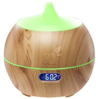 artnaturals Essential Oil Diffuser with Alarm Clock