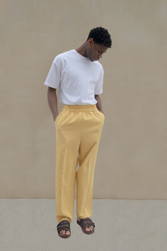 Yellow Suit Pants