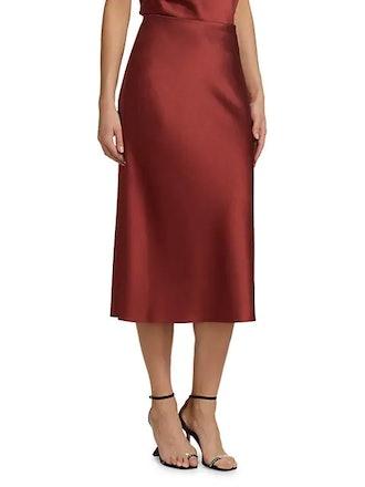 Maeve Midi Slip Skirt