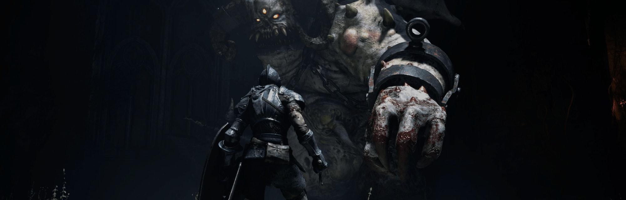 A screenshot from Demon Souls