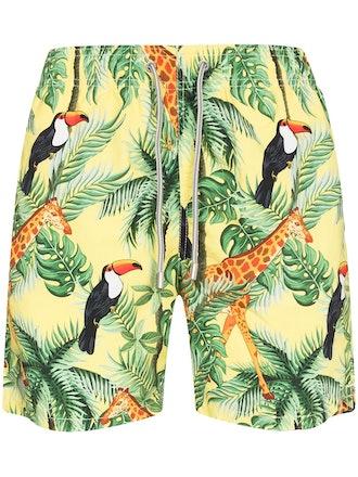 Tropical Garden Swim Shorts