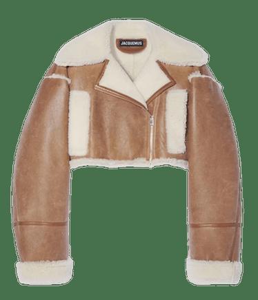 La Paiou Leather Moto Jacket