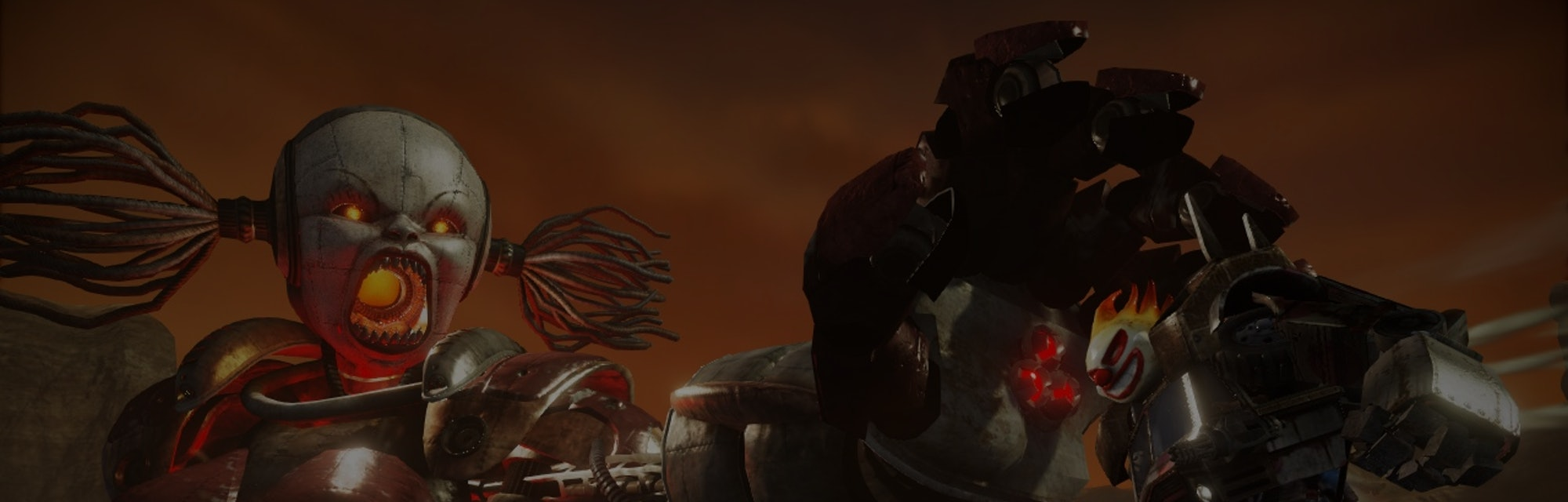 A screenshot from Twisted Metal (2012)