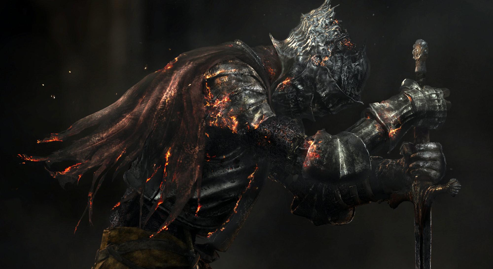 Protagonist from Dark Souls