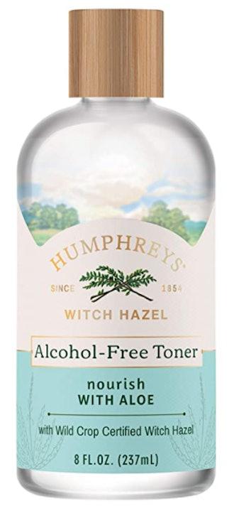 Nourish Witch Hazel + Aloe Alcohol-Free Toner, Clear