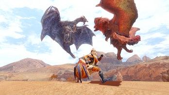 Monster Hunter Rise PC gameplay