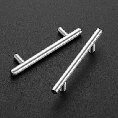 Ravinte Nickel Stainless Steel Cabinet Pulls (20-Pack)