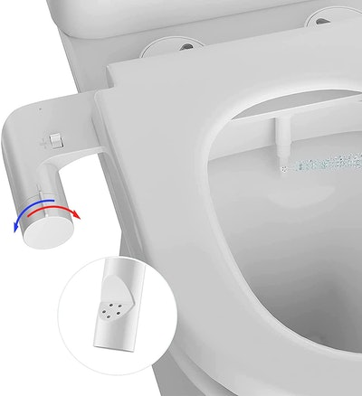 AMAZING FORCE Hot and Cold Bidet Toilet Attachment