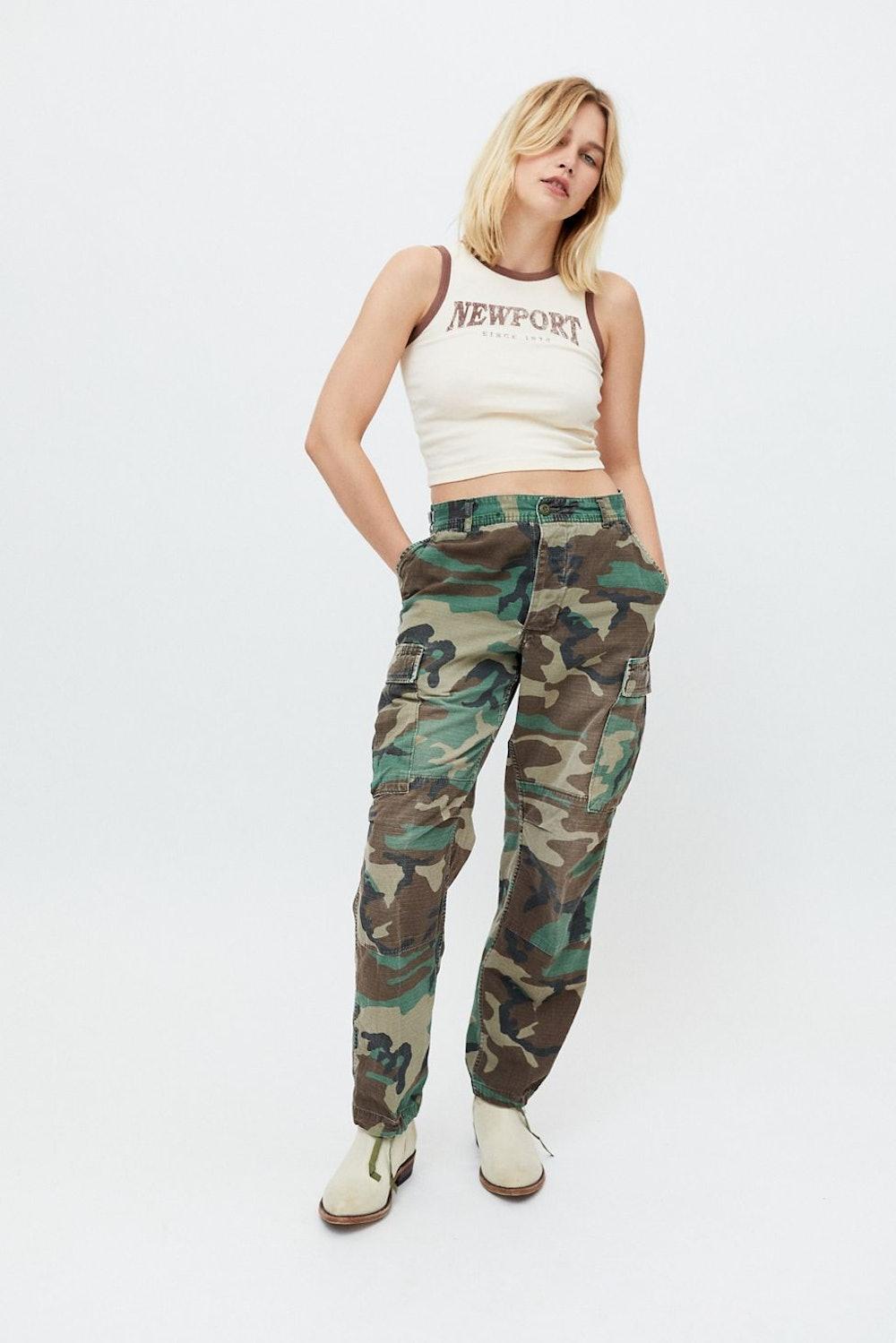 Urban Renewal Vintage Camo Pant