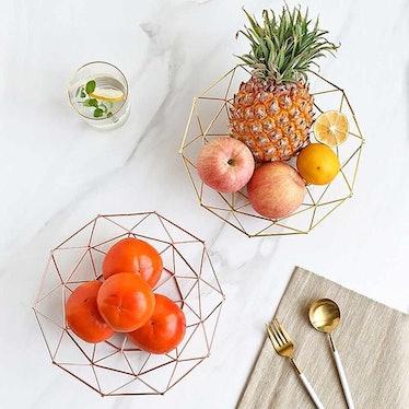 Teetookea Golden Fruit Basket